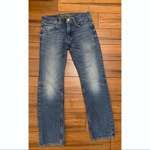 AEO Slim Straight Jeans 28/30 blue medium wash